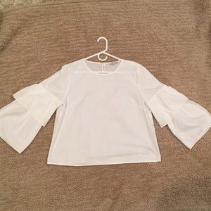 Madewell blouse Size L never worn